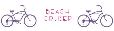Beach cruiser beach blog