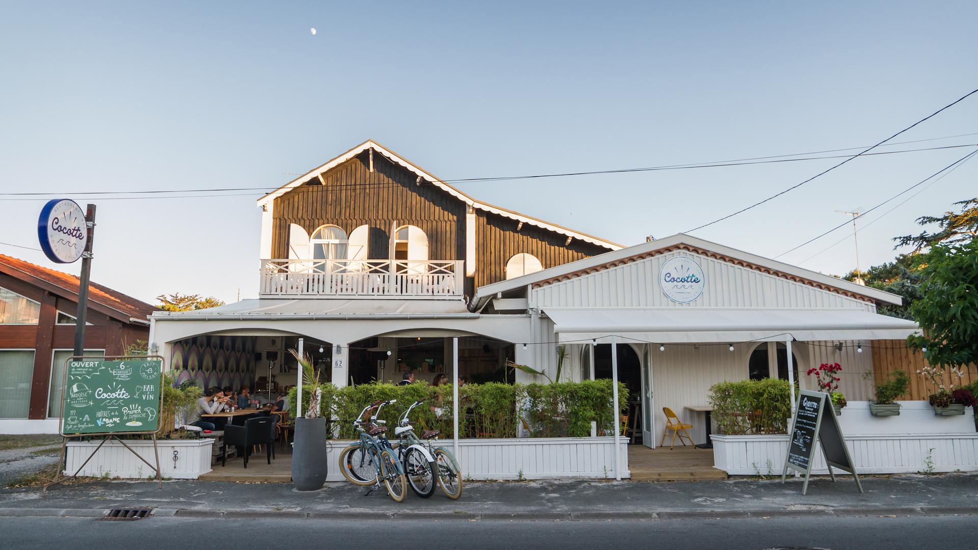 La californie au cap ferret c est chez cocotte les crewseuses - Restaurant chez cocotte ...